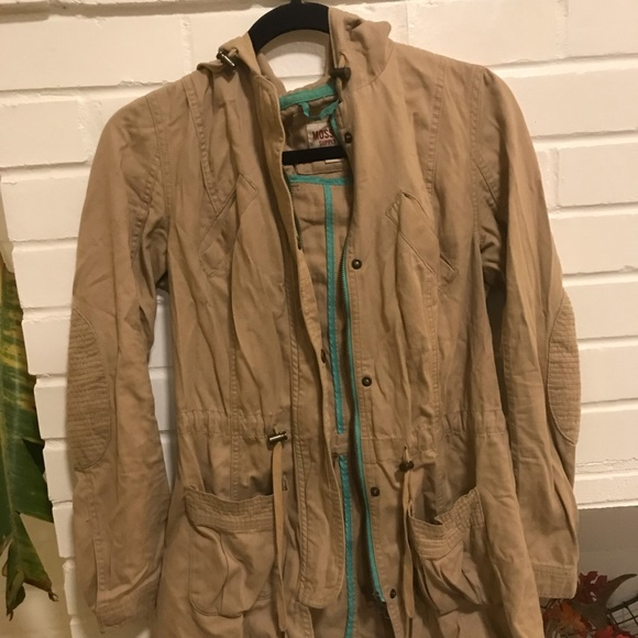 Mossimo Supply Co. Jackets & Blazers - Mossimo cargo overcoat with great pockets